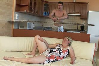 BBW mature woman sex