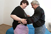 BBW mature fucked by old man