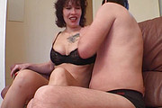 Mom and boy amateur anal video