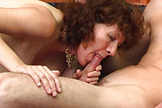 Granny with hairy pussy fuck a boy